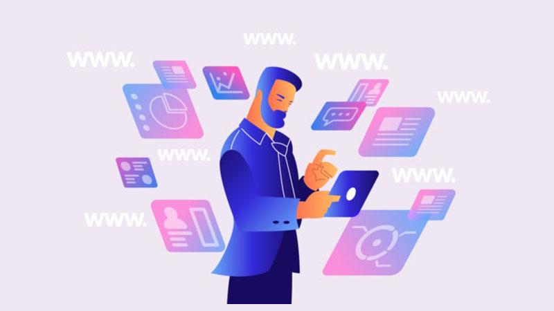 انواع مختلف وب سایت