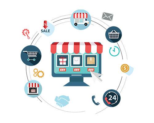 وبسایت های تجاری الکترونیک