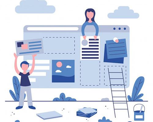 طراحی-سایت-ساده